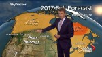 Anthony Farnell's 2017 Canada fall weather forecast